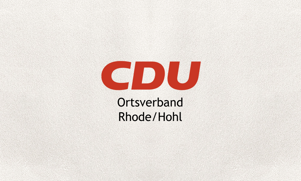 CDU Ortsverband Rhode/Hohl